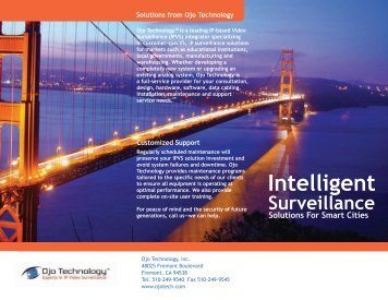 Government Brochure - Ojo Technology