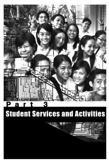 Part 3: Services and Activities - De La Salle Health Sciences Institute