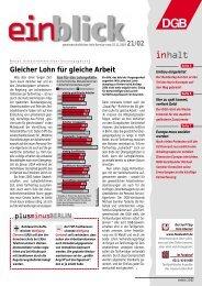 weiter - Einblick-archiv.dgb.de - DGB