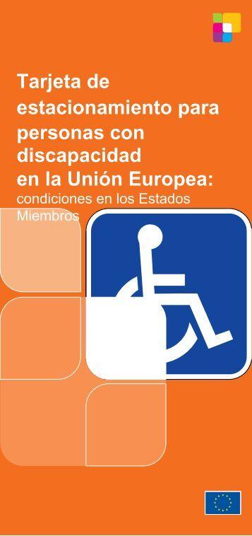 Tarjeta de estacionamiento para personas con discapacidad en la ...
