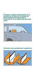 Tarjeta de estacionamiento para personas con discapacidad en la ... - Page 3