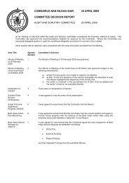 agenda template - english only - Comhairle nan Eilean Siar