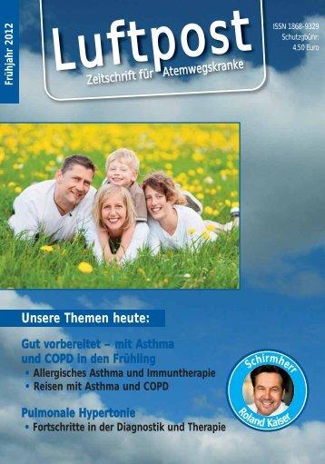 Luftpost – Zeitschrift für Atemwegskranke - Osteoporose - bei ...