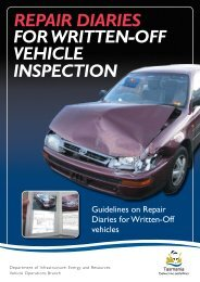 Repair Diary Brochure - Transport