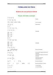 Dinâmica de uma partícula material em movimento num plano