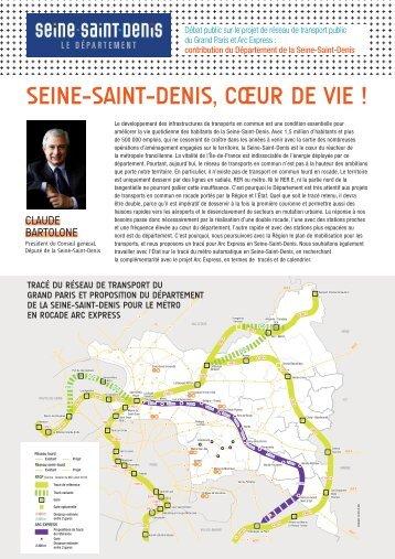 Transports en Seine-Saint-Denis - amutc