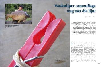 Wasknijper camouflage - Pro Line