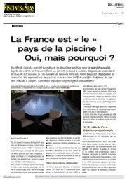 Piscines & Spas Magazine - Piscinelle