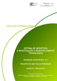 GUIA DO FORMULÁRIO - Compete - QREN