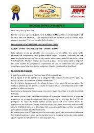 Compte-rendu OILYBIA 12 1ère étape - Elka Suspension