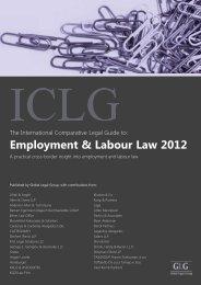 Employment & Labour Law 2012 - BARNERT EGERMANN ...