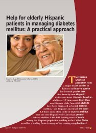 Help for elderly Hispanic patients in managing diabetes ... - CECity