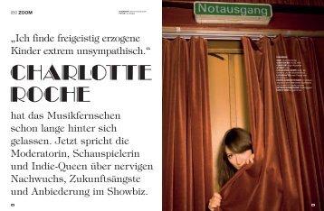Charlotte Roche - Filmjournalist.de