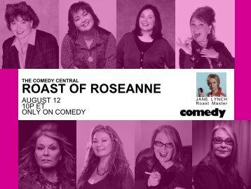 ROAST OF ROSEANNE - Bell Media