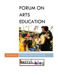 read more - Arts Education Partnership
