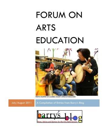 read more - Arts Education Partnership