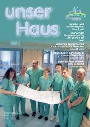 Ausgabe Nr. 1 / 2004 (5,1 MB) - St. Vincenz Krankenhaus Limburg