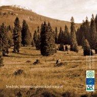 Snežnik, izjemna raznolikost narave - brošura - Zavod RS za varstvo ...