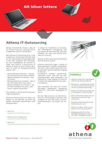 Product Sheet - Athena