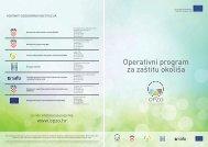 Operativni program za zaštitu okoliša (listopad 2012.) - Ministarstvo ...