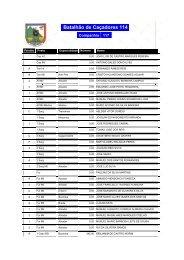 Listagem dos Militares que integraram a Companhia de ... - Ultramar