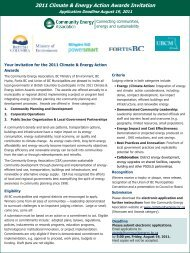2011Climate & Energy Action Awards Invitation.pdf - BC Climate ...