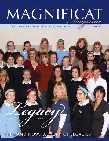 Mrs. Kate Minerd, Advisor… - Magnificat High School