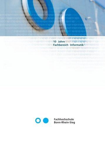 10 Jahre Fachbereich Informatik