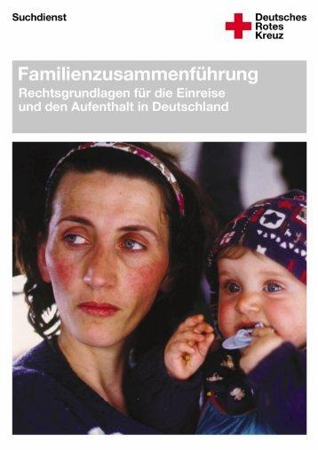 """DRK - Broschüre """"Familienzusammenführung - Rechtsgrundlage für ..."""