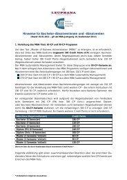 Hinweise für Bachelor-Absolventinnen und -Absolventen - MBA ...