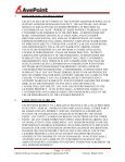 Master Software License and Support Agreement (US ... - AvePoint - Page 5