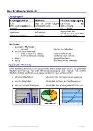 Statistik-Skriptum