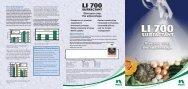LI 700 Technical brochure horticulture - Pest Genie