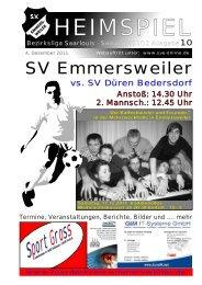 """Download """"HEIMSPIEL"""" Ausgabe 10 - Förderkreis Emmersweiler eV"""