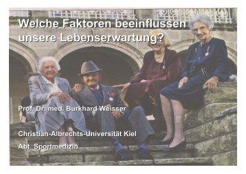 Determinanten der Lebenserwartung - lebensstilaenderung.de