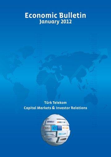 January 2012 - Türk Telekom Investor Relations