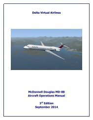 McDonnell-Douglas MD-89 Operating Manual - Delta Virtual Airlines