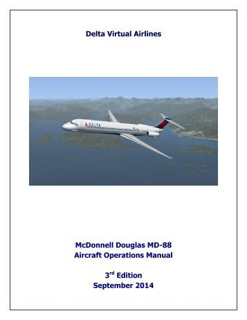 Operating Manual boeing 737 800 United first class
