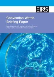 [PDF] Convention Watch Briefing Paper - Eiris