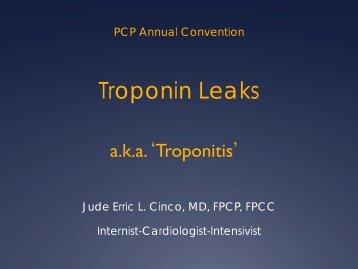Troponin Leaks aka Troponitis