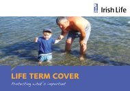 Life Term COVer - Irish Life
