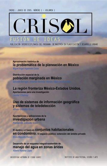 Revista crisol final.indd - Universidad Autónoma de Ciudad Juárez