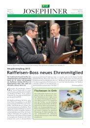 Ausgabe 1/2013 - Josephiner.at