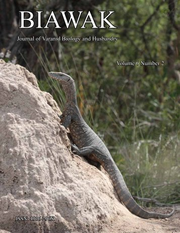 Monitor - International Varanid Interest Group