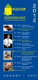 Programm Januar - Juli 2012