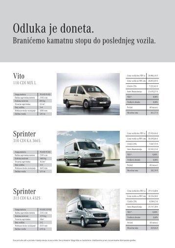 vitosprinter inserter nula posto1-4 - Mercedes-Benz Srbija i Crna Gora