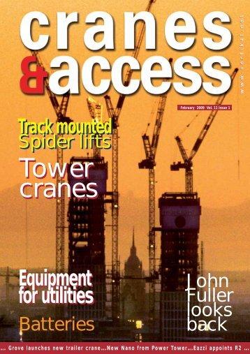 Tower cranes Tower cranes