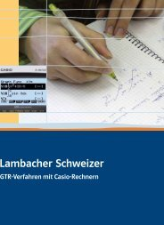 Zum GTR - Ernst Klett Verlag