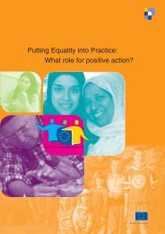 Positive action - Equality and Diversity Forum