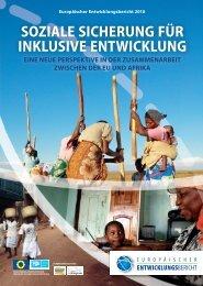 soziale sicherung für inklusive entwicklung - European Report on ...